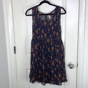 Sheer dress w/ built in slip
